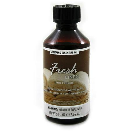 Fragranced Warming Oil 150ml Fresh Linen Fragrance