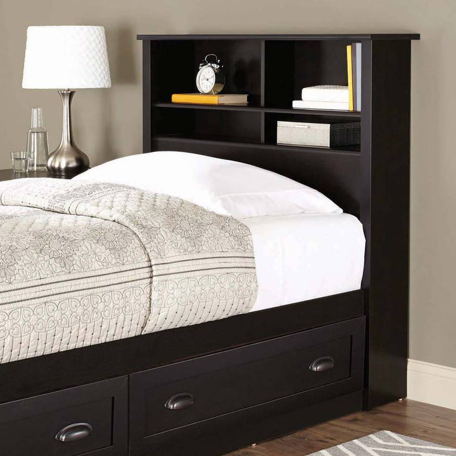 Better Homes and Gardens Lafayette Twin Bookcase Headboard, Multiple Finishes