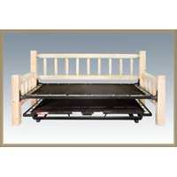 Homestead Collection Trundle Bed, Day Bed with T. mech. Ready To Finish