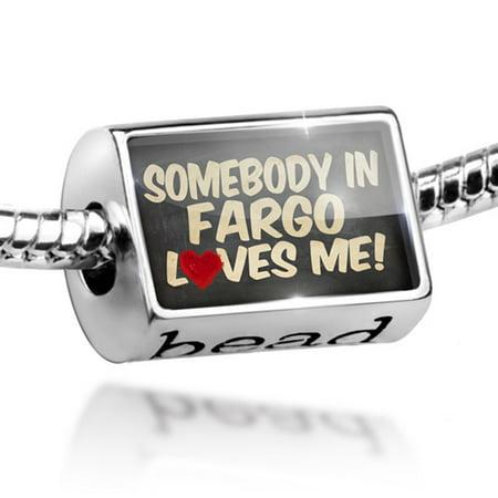 Bead Somebody in Fargo Loves me, North Dakota Charm Fits All European Bracelets](Fargo Near Me)