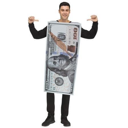 Homemade Monkey Costume For Adults (Money, Money! 100 Dollar Bill Adult)
