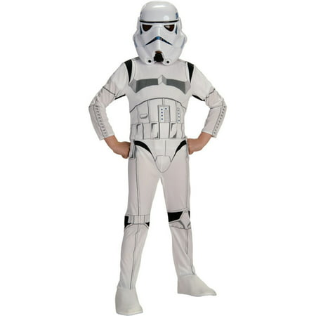 Star Wars Stormtrooper Child Halloween Costume, Small (4-6) (Stormtrooper Costumes For Kids)