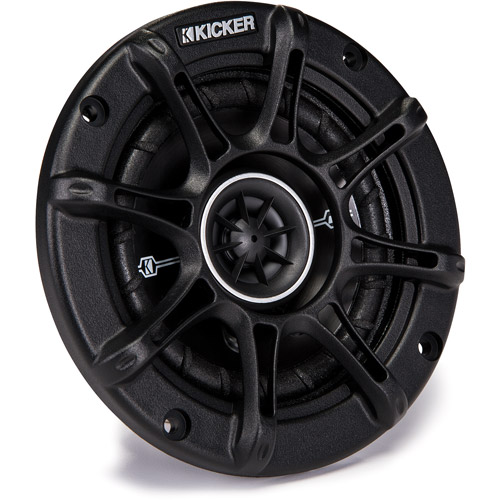 "Kicker DSC44 4"" D-Series 2-Way Car Speakers with 1/2"" Tweeters"