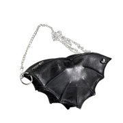 Women's Bat Purse Bag Black