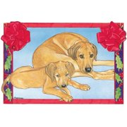 Pipsqueak Productions C858 Holiday Boxed Cards- Rhodesian Ridgeback