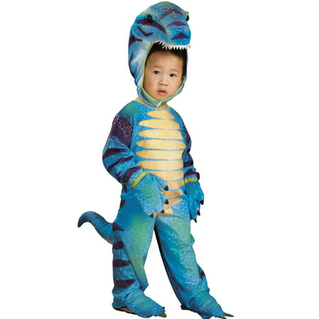 Kids Blue Dinosaur Dragon Plush T-Rex Halloween Costume Todd](Dinosaur Costumes Kids)