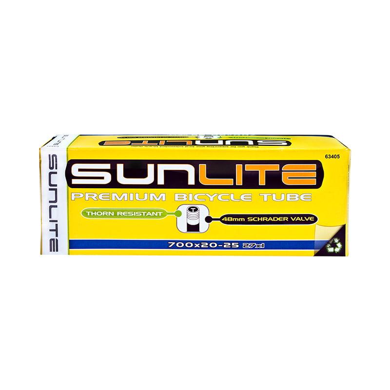 SUNLITE TUBES SUNLT 700x20-25 SV48 27x1 FFW25mm Standard Schrader Valve