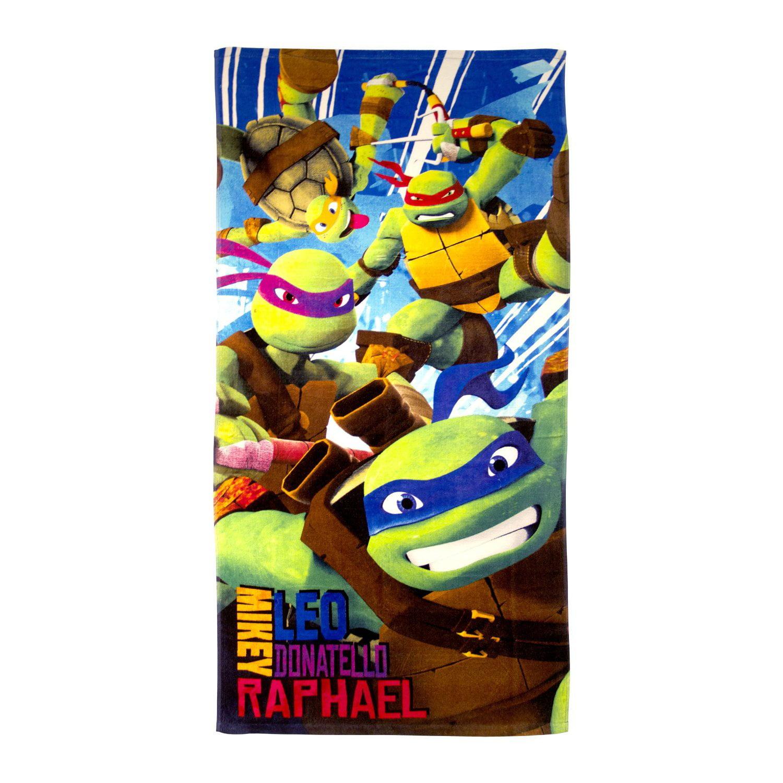 Nickelodeon Teenage Mutant Ninja Turtles Turtle Power Beach Towel
