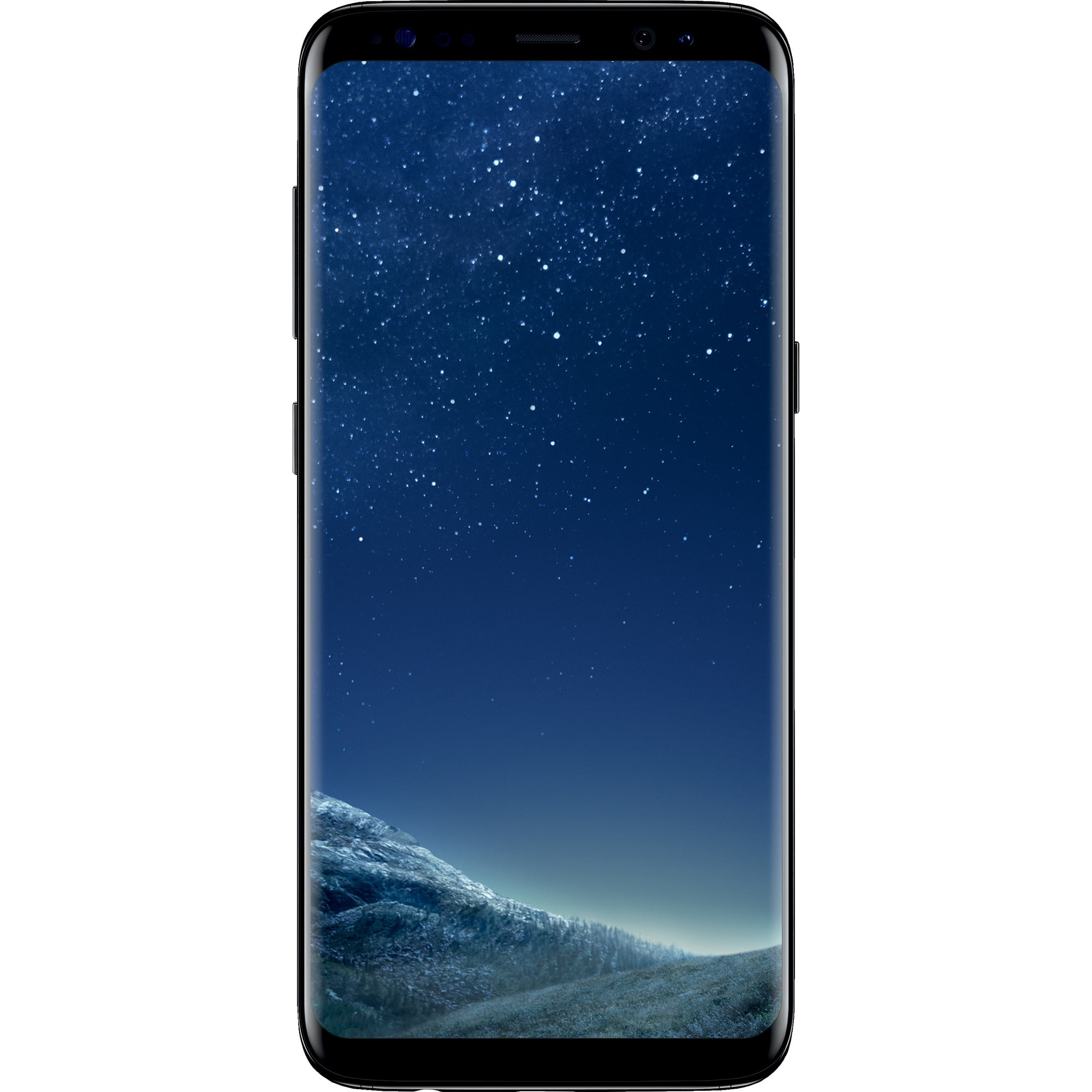 Simple Mobile Samsung Galaxy S8 LTE Prepaid Smartphone, Black by Samsung