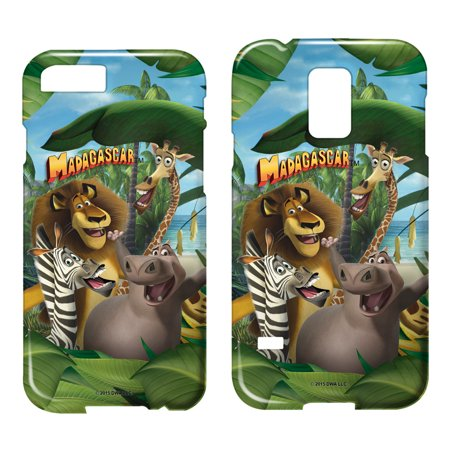 Madagascar Jungle Time Smartphone Case Barely There (Samsung Galaxy Note 4) White Sgn4