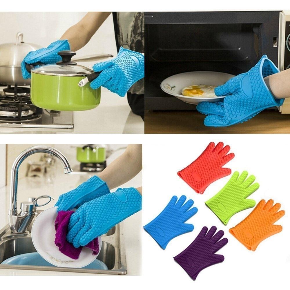 Heat Resistant Silicone Glove (Pair)