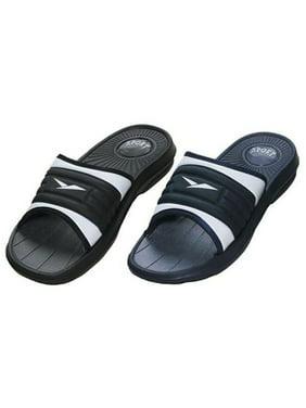 794607ac3e5cdd Product Image Men s Rubber Slide Sandal Slipper Comfortable Shower Beach  Shoe Slip On