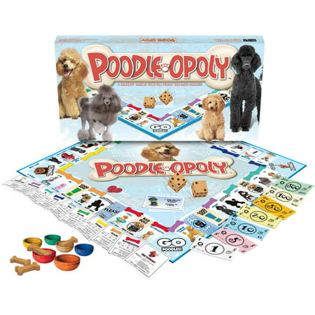 Late for the Sky Poodle-opoly Game
