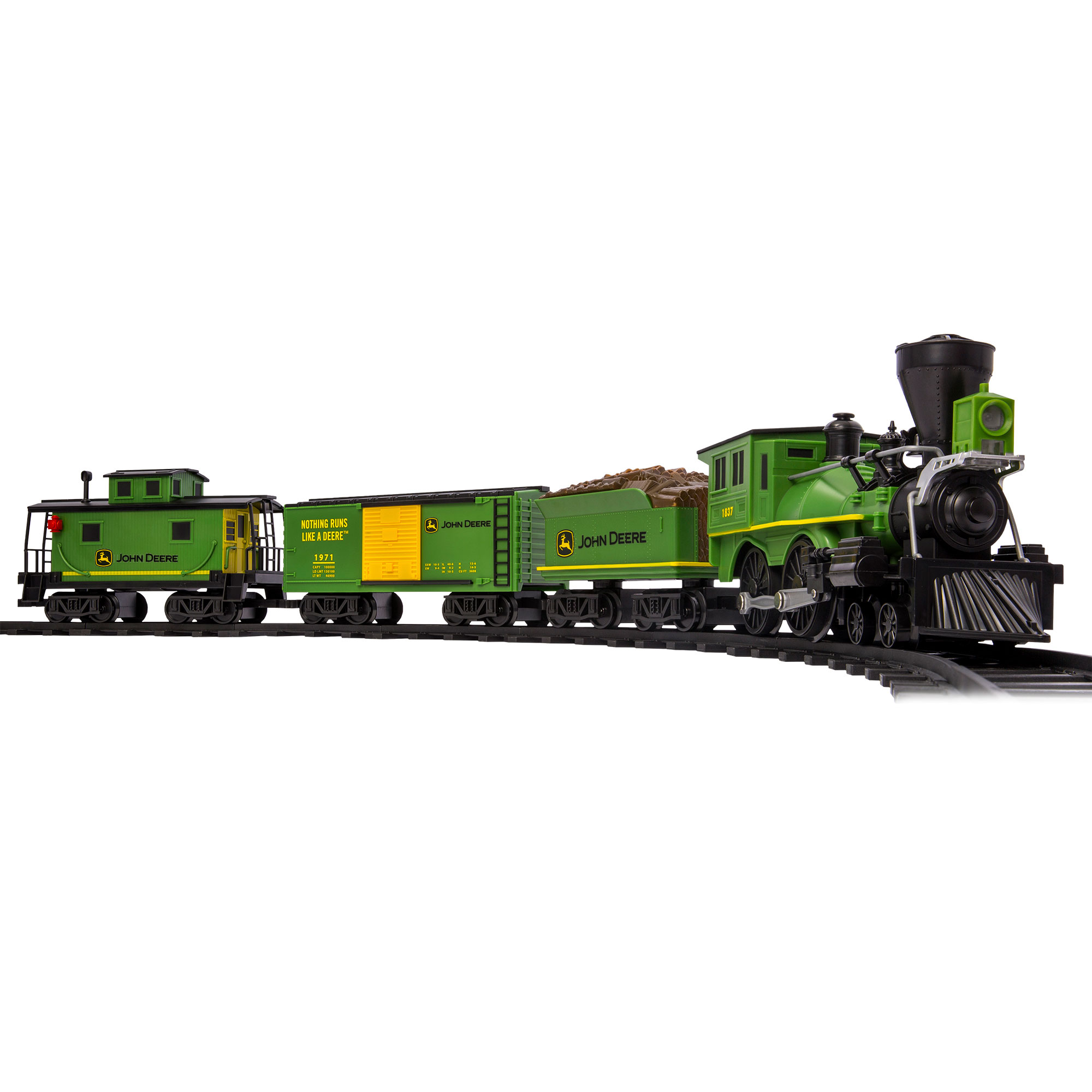 Lionel Trains John Deere Ready-to-Play Train Set