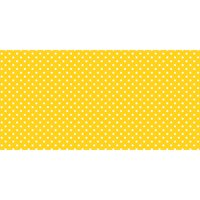 """Pacon® Fadeless® Design Roll, 48"""" x 50', Classic Dots Yellow"""