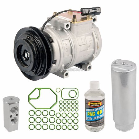 AC Compressor w/ A/C Repair Kit For Toyota Land Cruiser 1990 1991 1992 1993 1991 Dodge Dynasty A/c