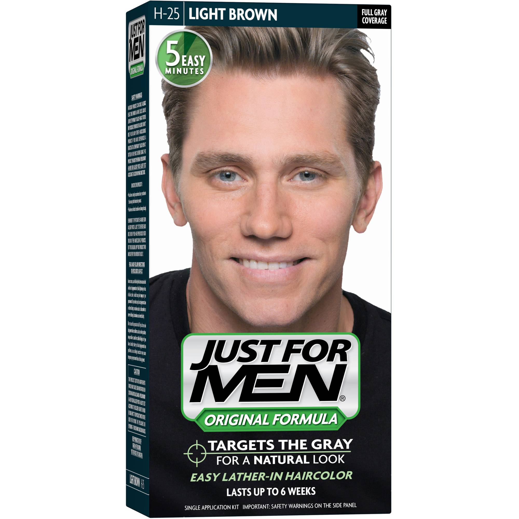 Just For Men Shampoo, 25 Light Brown