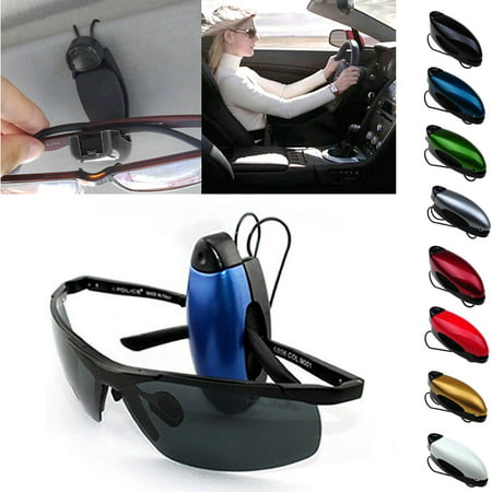 3 Pcs Car Auto Sunglass Visor Clip Sunglasses Eyeglass Holder 8 Color in (Chanel Sun Glass)