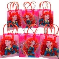 12 Brave Party Favor Bags Birthday Candy Treat Favors Gifts Plastic Bolsas De Recuerdo