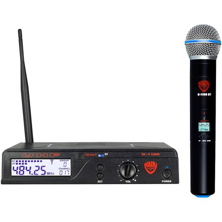 - Nady U-1100 HT/A UHF 100-Channel Wireless Handheld Microphone System