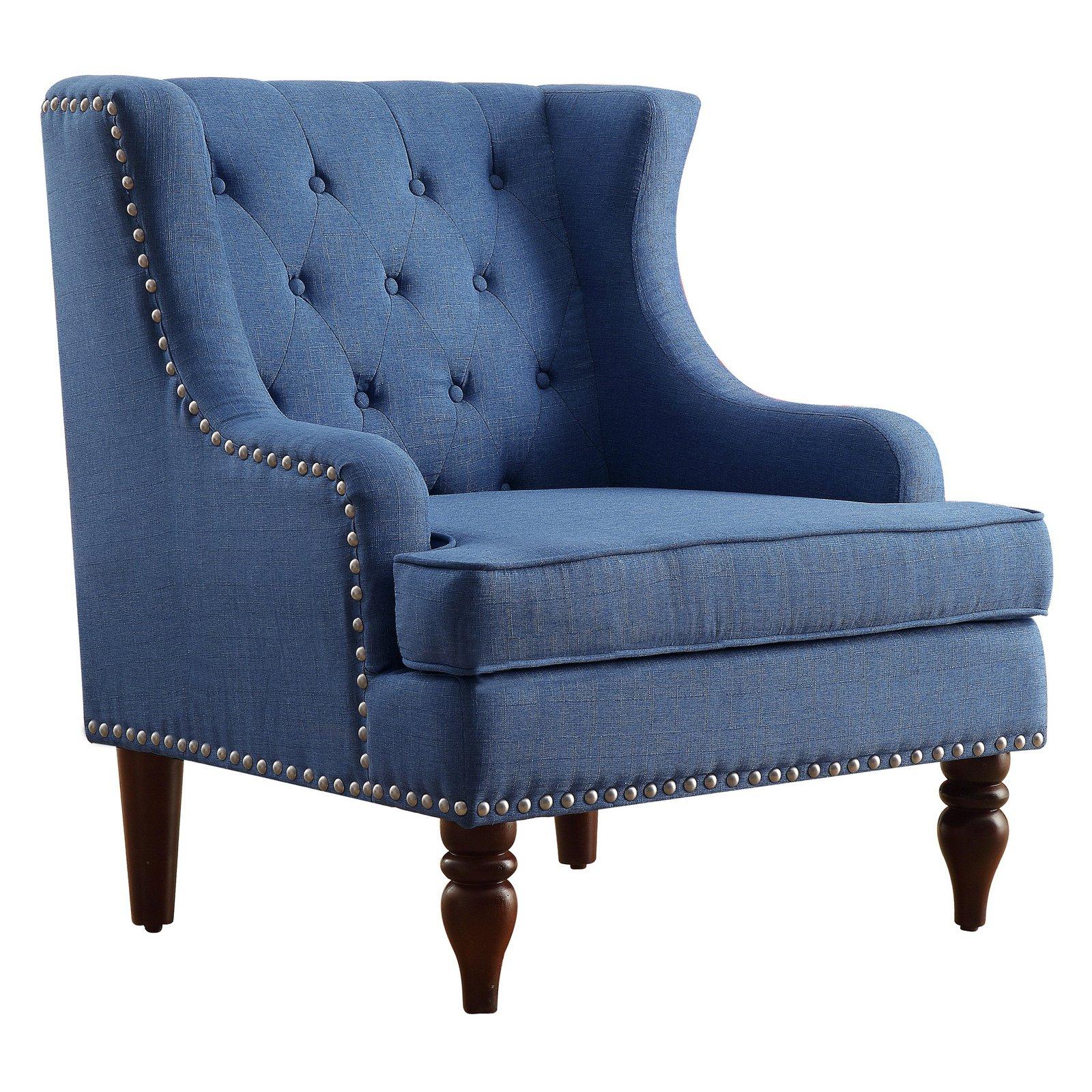 Rosevera Carafa Tufted Wingback Armchair