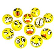 Emoticon Figure Stress Ball (Package of 12)