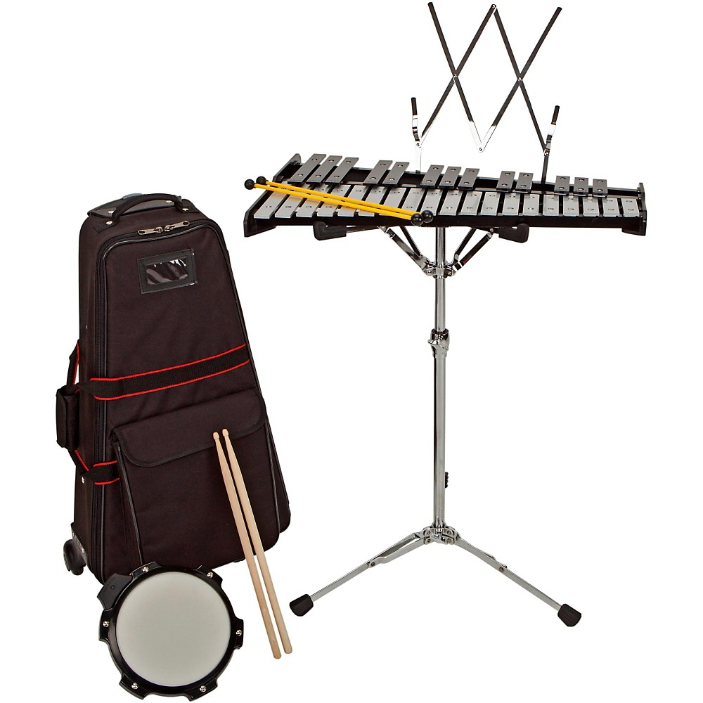 Sound Percussion Labs Bell Kit w/ Rolling Cart 2-1/2 OCTAVE