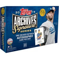 2019 Topps Archives Baseball Signature Series Factory Sealed 1 Card Pack