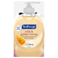 Softsoap Moisturizing Liquid Hand Soap, Milk & Golden Honey - 7.5 fluid ounce