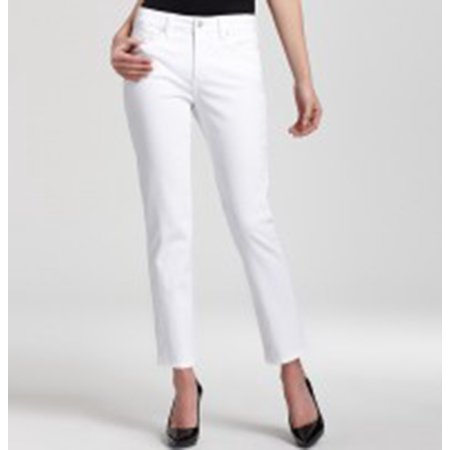 Not Your Daughters Jeans Alisha Fitted Ankle, White, - Daughters Jeans Tuxedo