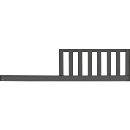 (Baby Relax Kellee Toddler Guard Rail, Slate Gray)