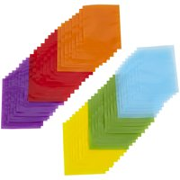 Wilton Multi-Colored Treat Bags, 50-Count