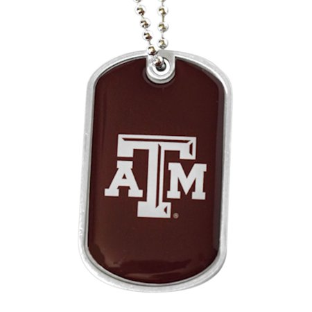 NCAA Texas A&M Aggies Sports Team Logo Domed Dog Tag Necklace (Customized Dog Tag Necklaces)