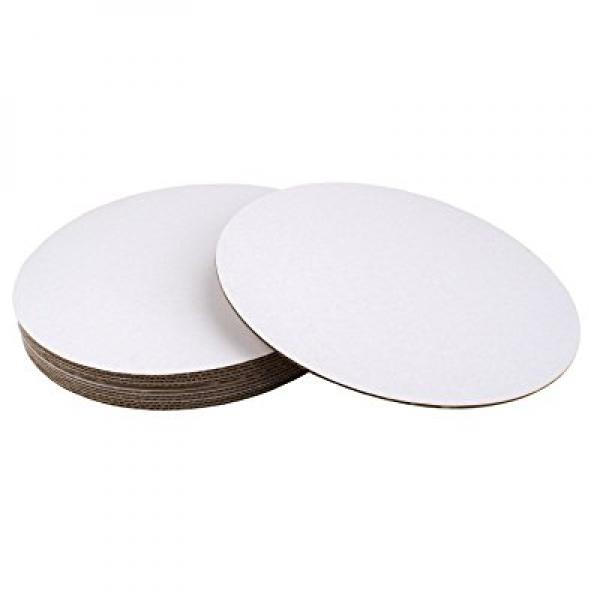 16 Round Coated Cakeboard, 12 ct.