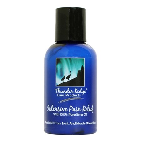 Thunder Ridge Emu Products Intensive Pain Relief Oil   8 Oz