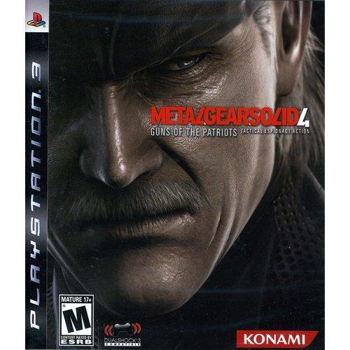 Playstation 3 - Metal Gear Solid 4 Guns Of Patriots