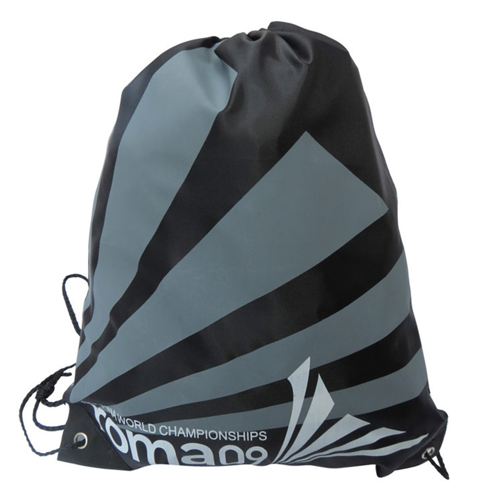 Swimming Drawstring Beach Bag Sport Gym Waterproof Backpack Swim Dance Black Black