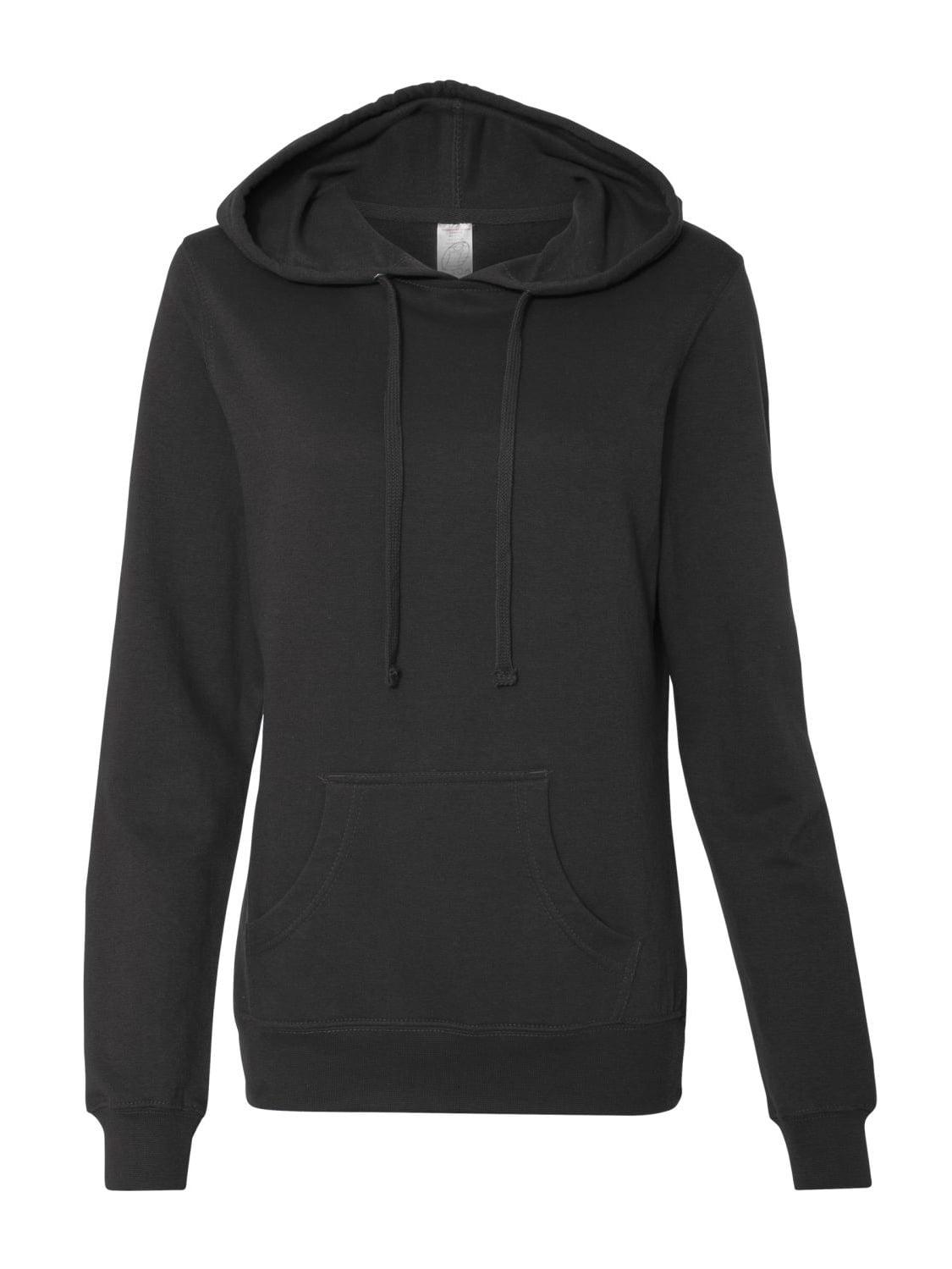 Independent Trading Co. Fleece Juniors' Lightweight Pullover Hooded Sweatshirt