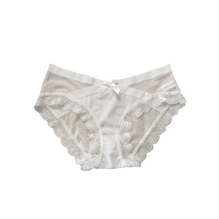 d7c134477 Funcee Women Cotton Lace Low Waist Briefs Underwear. Average rating 0out  of5stars