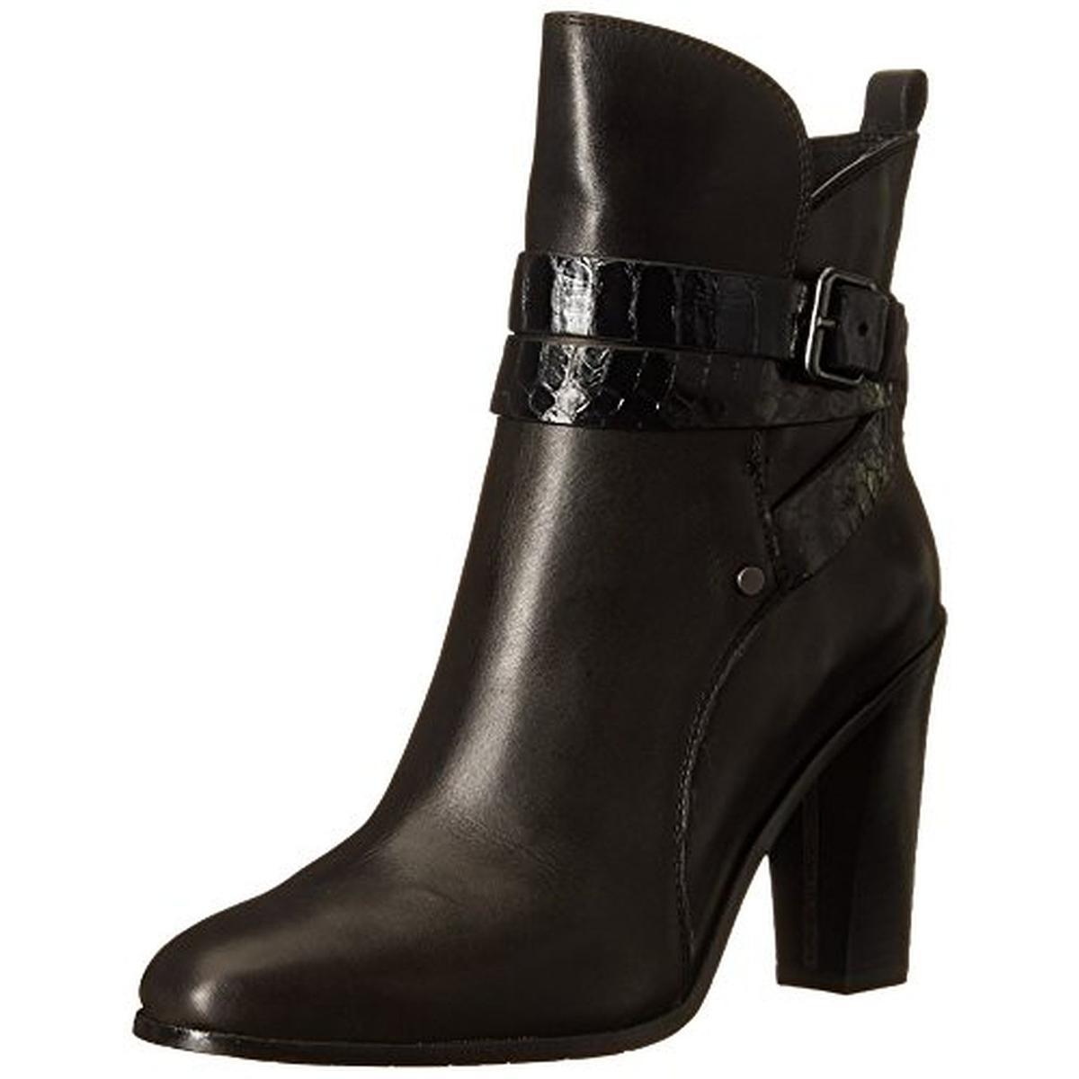 Donald J Pliner Oli Round Toe Leather Ankle Boot by Donald J Pliner