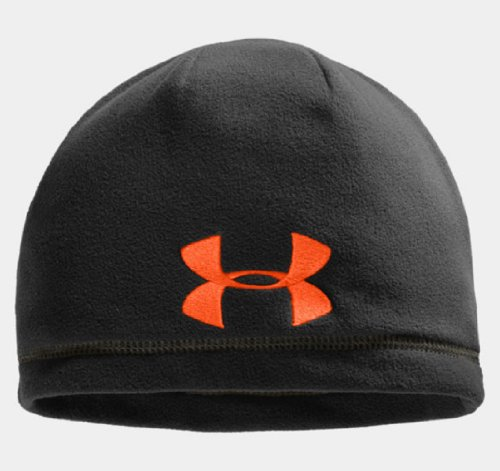Under Armour Men's UA Outdoor Fleece Beanie One Size Fits All Black