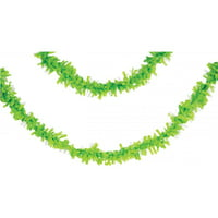 Creative Converting Fresh Lime Green Tissue Garland, 25 Ft.