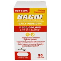 Bacid Daily Probiotic Dietary Supplement For Digestive Health,