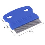 Pet Cat Dog Small Steel Fine Toothed Grooming Flea Comb Debris Removal Tool