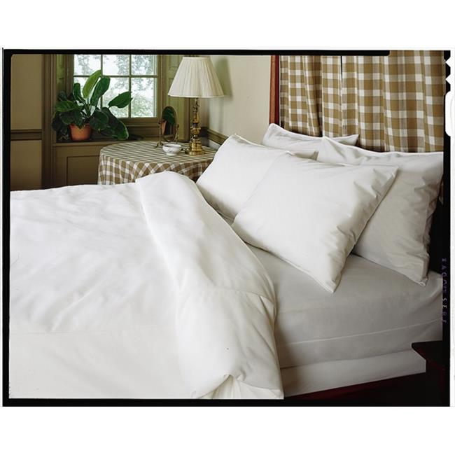 Bargoose Home Textiles 536686 Allergy Care 100% Cotton Zippered Duvet Cover - Twin