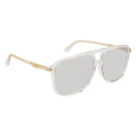975fddad9ff Gucci - Sunglasses Gucci GG 0262 SA- 006 CRYSTAL   GREY - Walmart.com