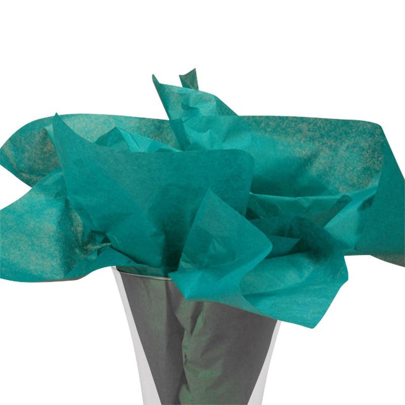 "24ea - 20"" X 30"" Quire Fold Premium Mtt Teal Tissue Ppr-Pk by Paper Mart"