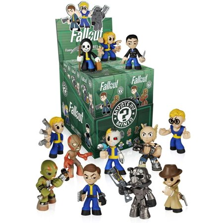 Fallout Funko Mini Figure Case of 12 SEALED - Fallout Helmet