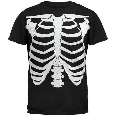 Skeleton Glow In The Dark Youth Costume T-Shirt](Glow In The Dark Bodysuit)