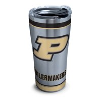 NCAA Purdue Boilermakers Tradition 20 oz Stainless Steel Tumbler with lid